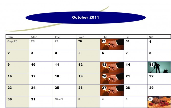 October2011Events